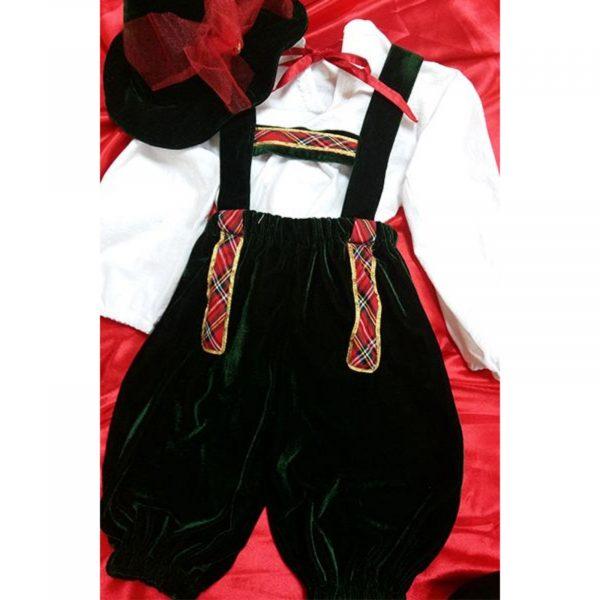 Costum Baiat Bavarez - catifea