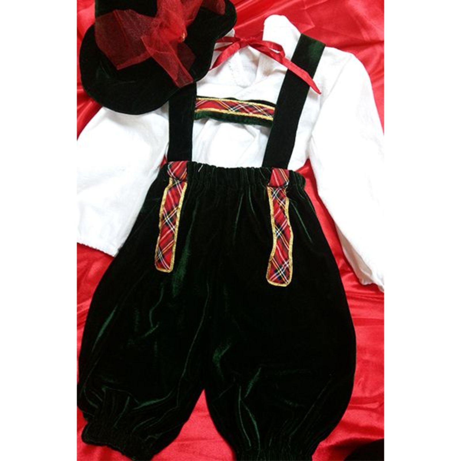 Costum Baiat Bavarez – catifea 1