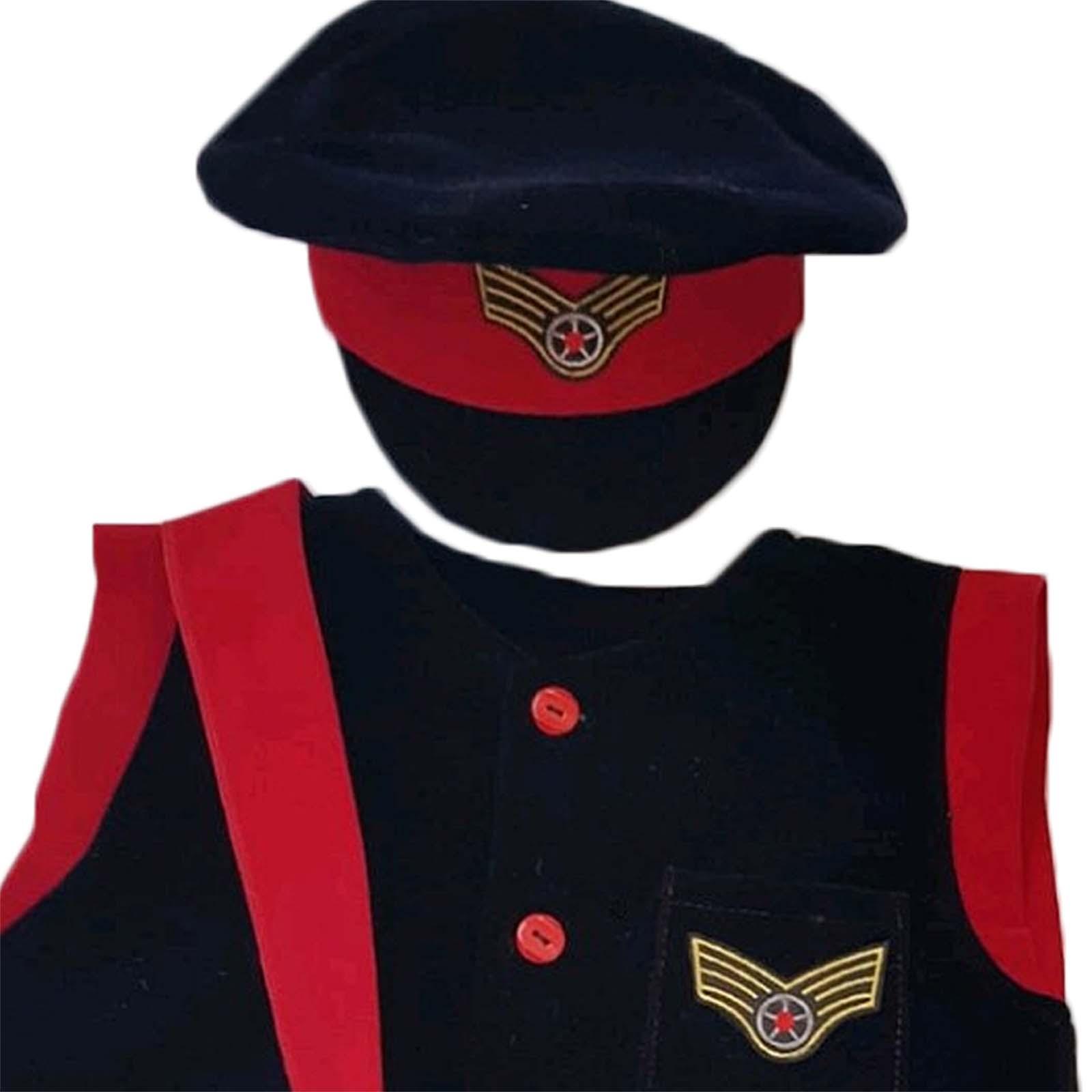 Costum Controlor Conductor tren detaliu