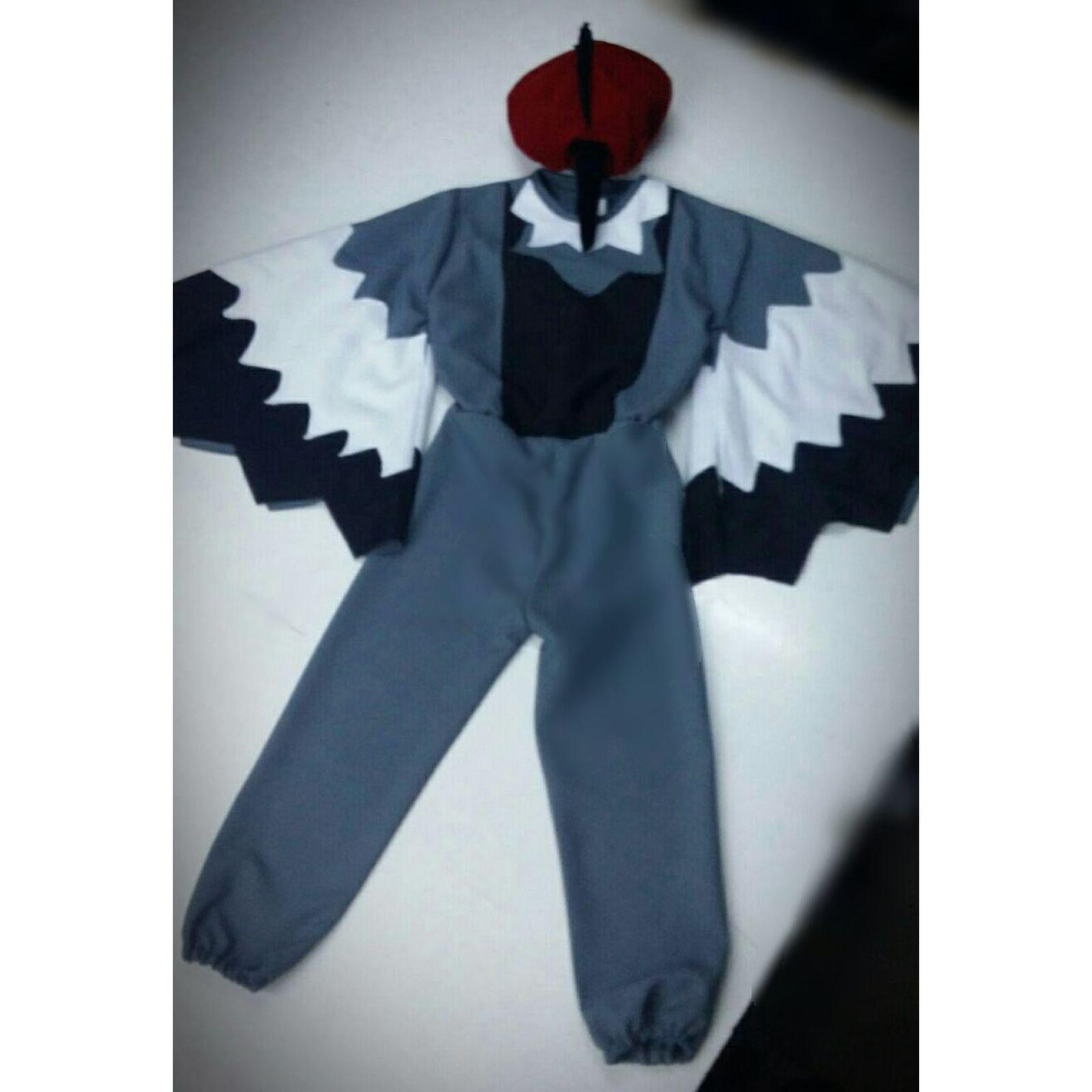 Costum Ciocanitoare – salopeta 2