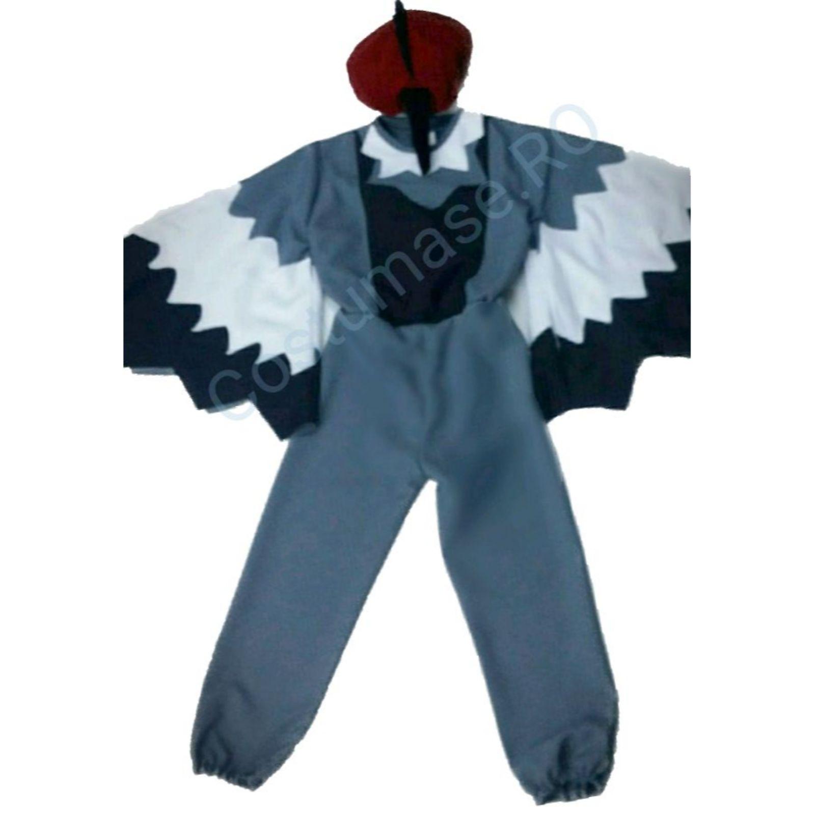 Costum Ciocanitoare - salopeta