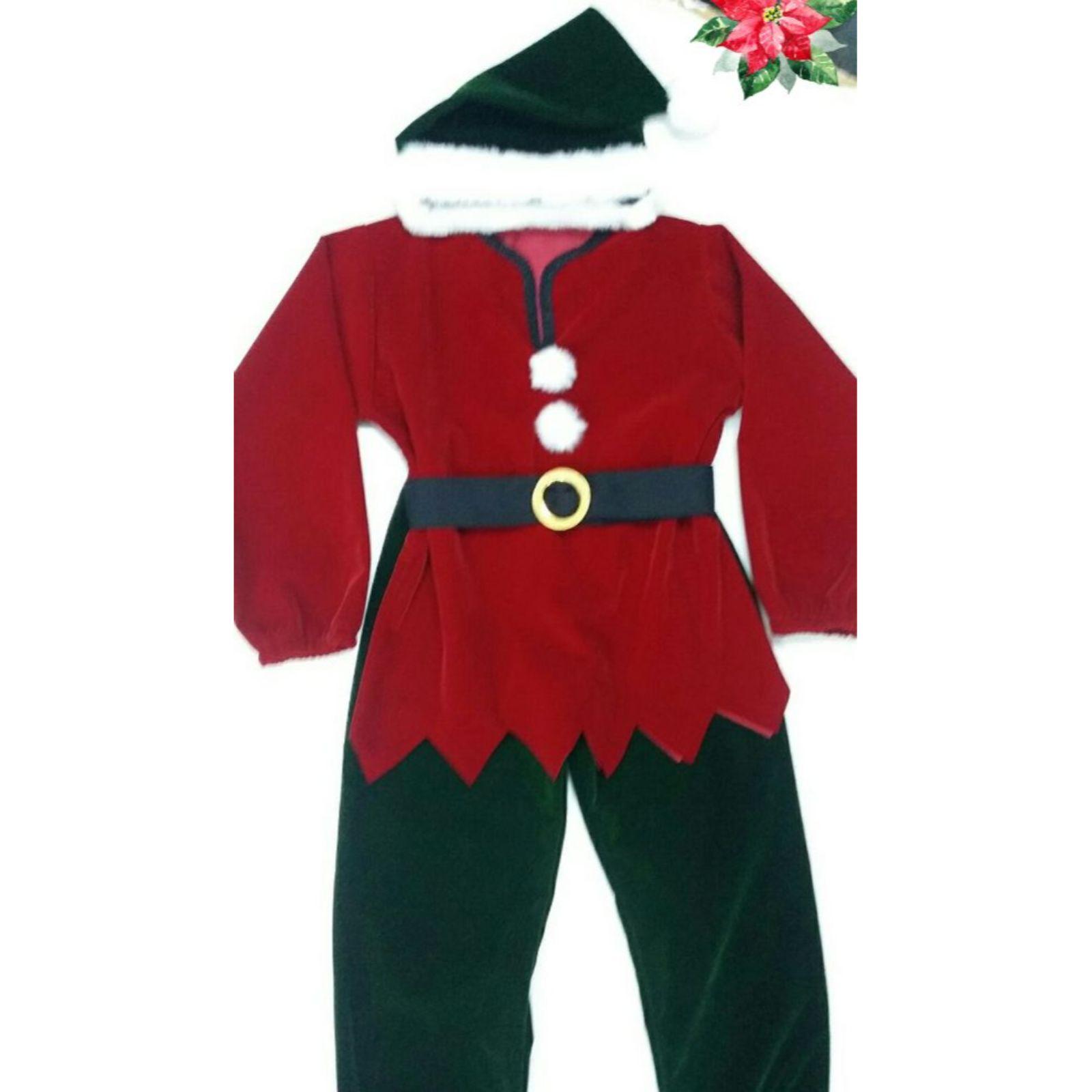 Costum Elf sau Spiridus premium 1