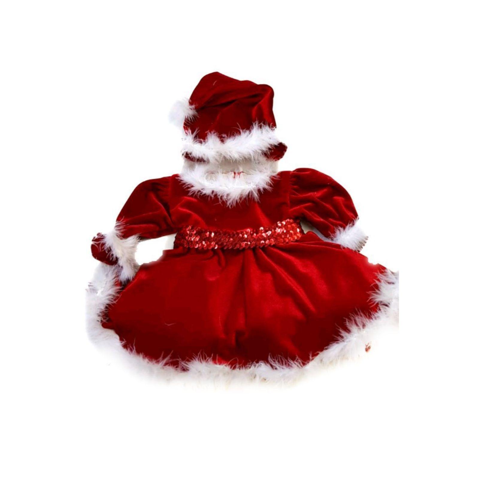 Rochiță Crăciunița bebe 0-2 ani