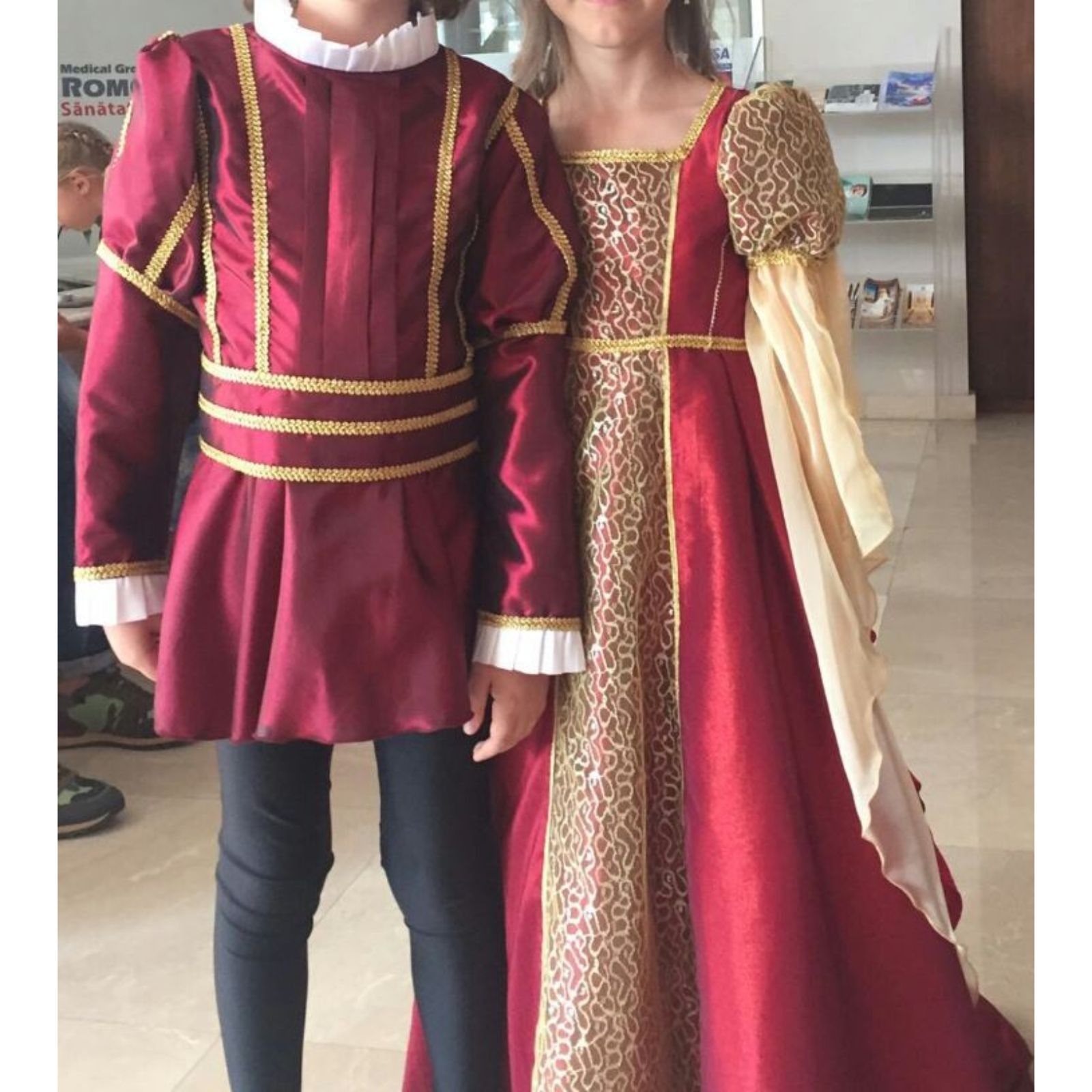 Rochita medievala fete Julieta (Romeo si Julieta)