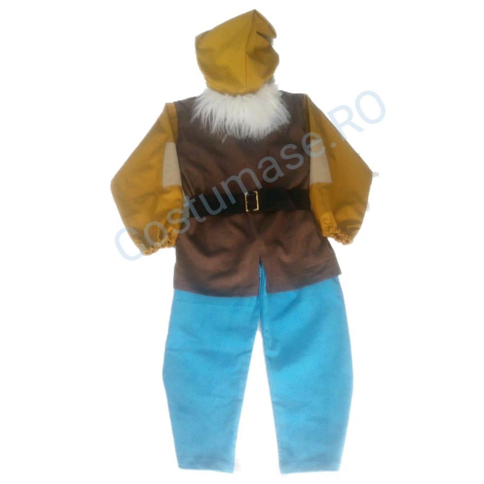 Costum Pitic Alba ca zapada – Happy 1