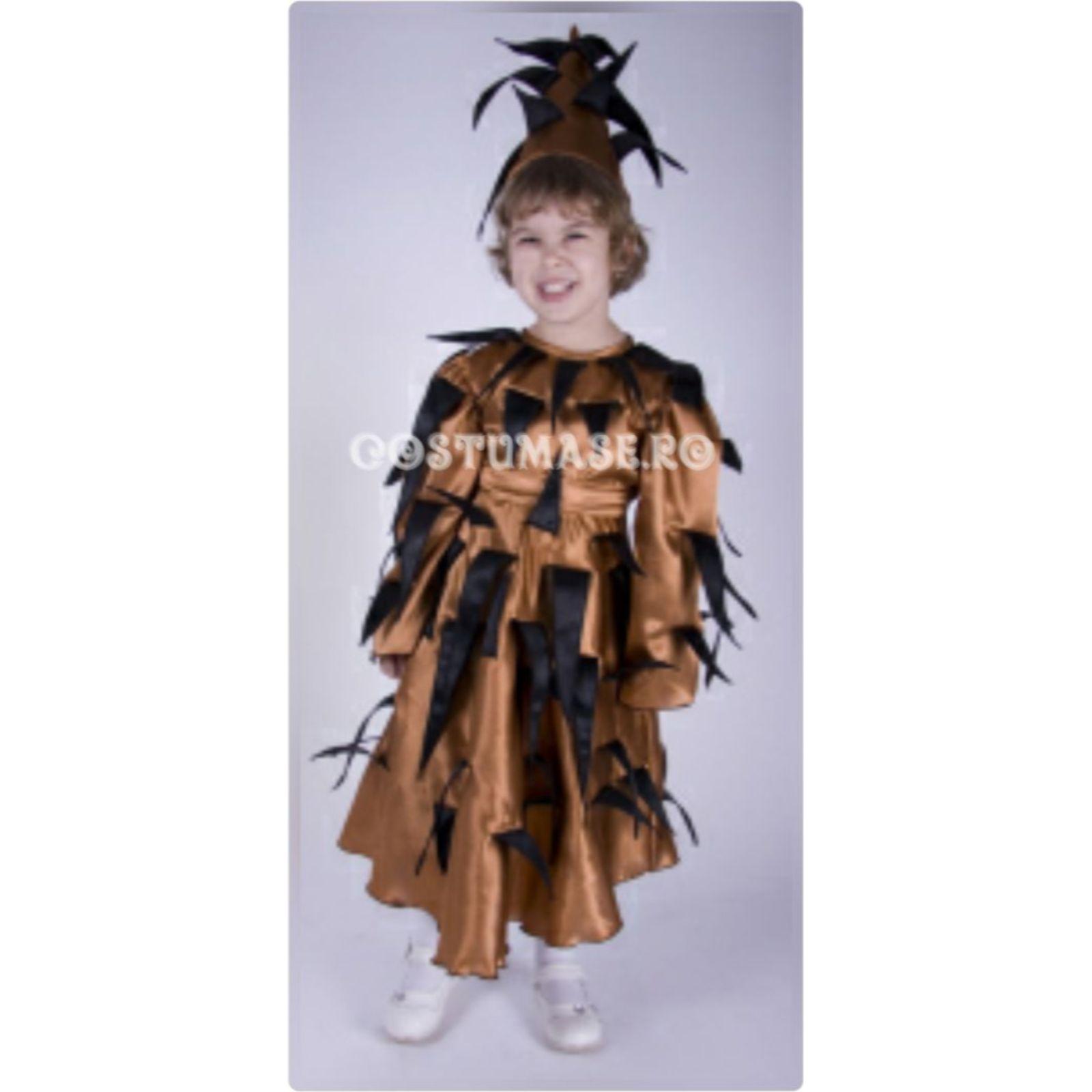 Costum de arici-fetita