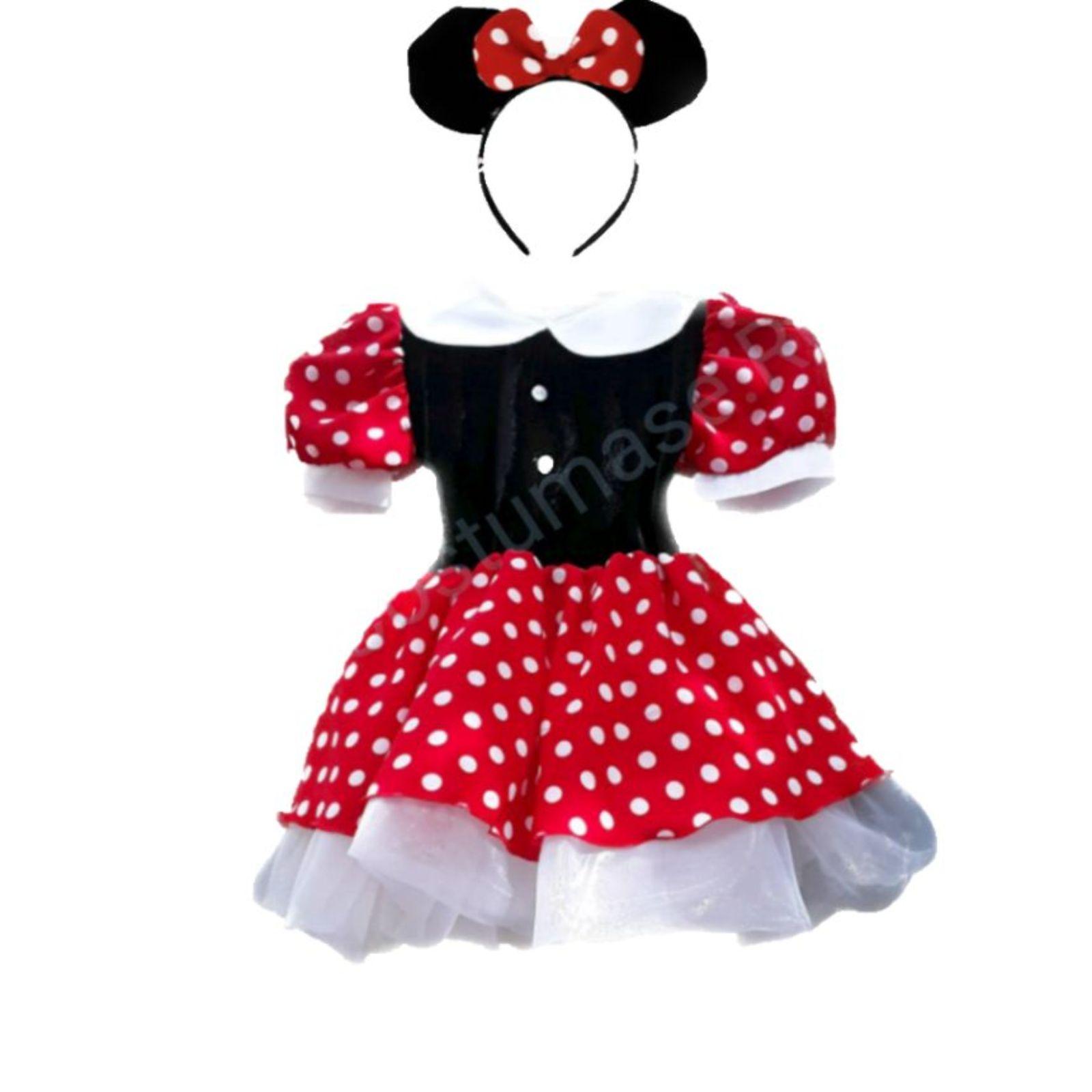 Rochița Minnie Mouse cu bentiță
