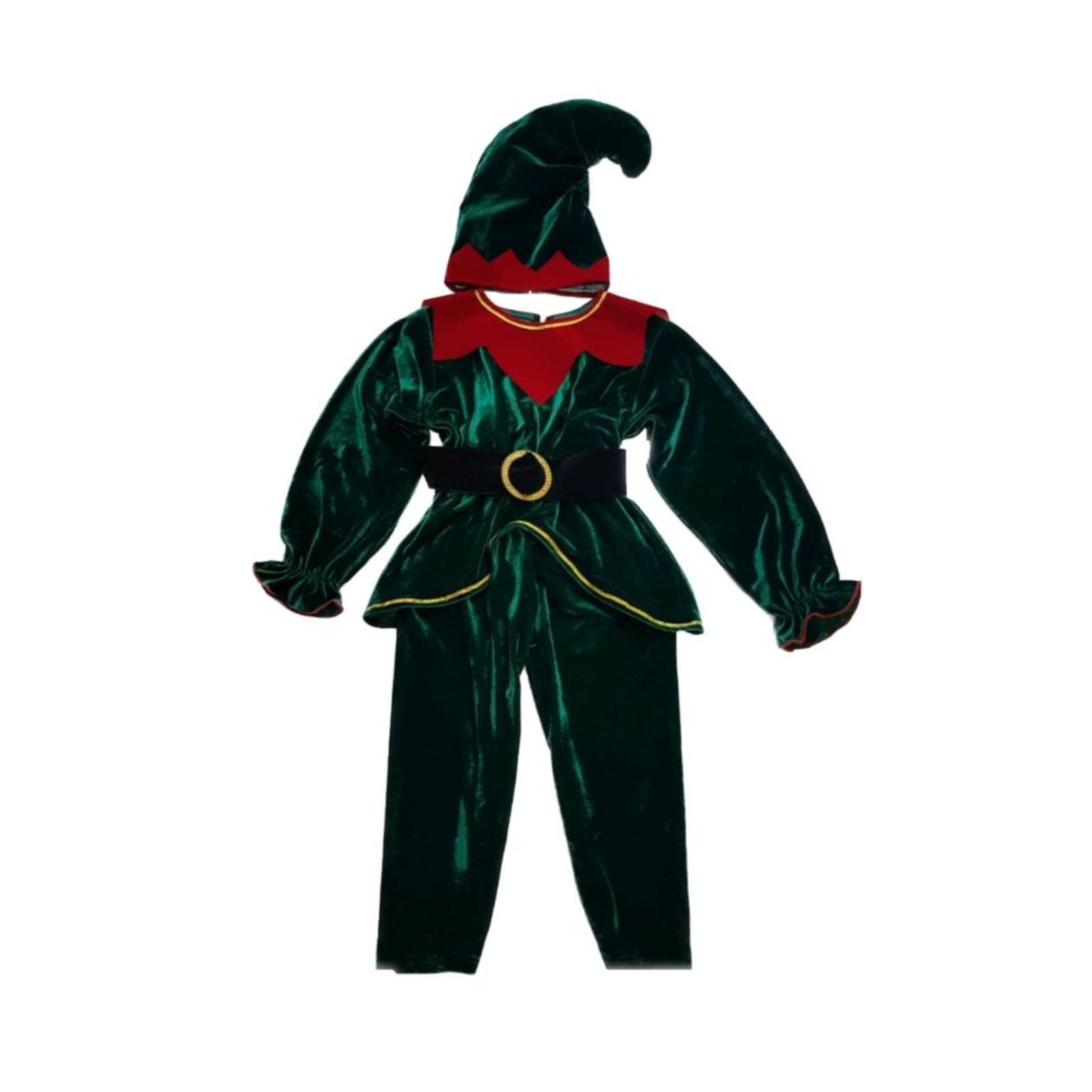 Costum Spiridus / Elf catifea 1