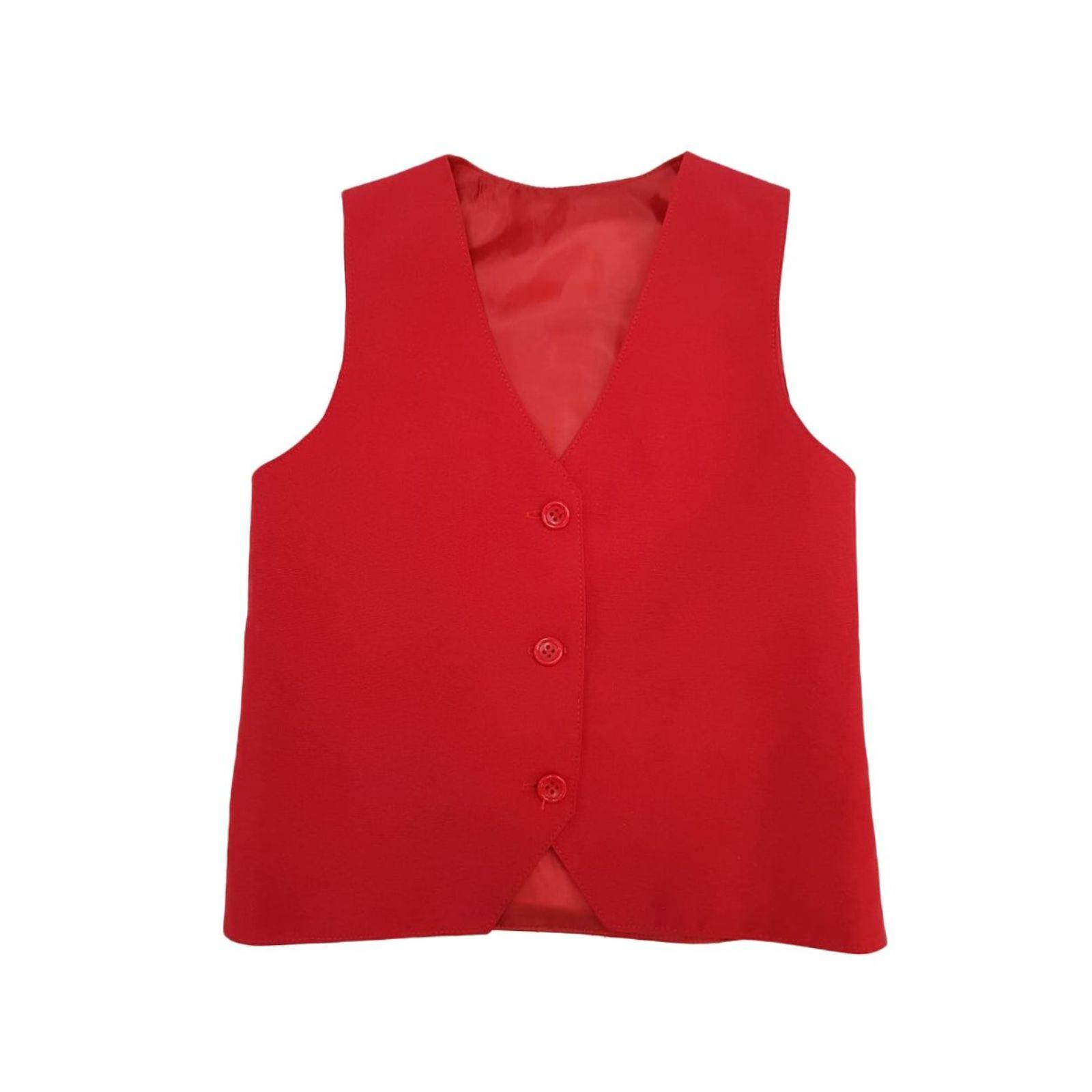 Vesta rosie - uniforma scolara