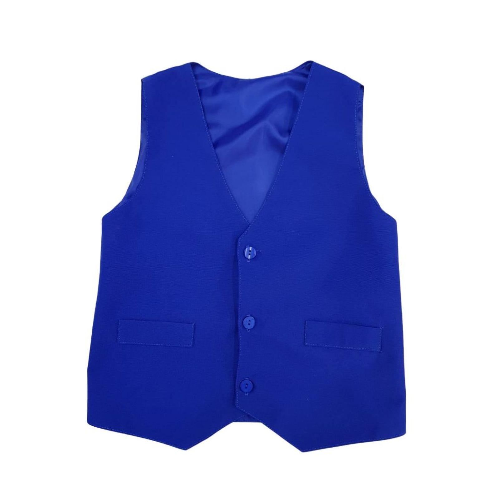 Vesta albastra- uniforma scolara