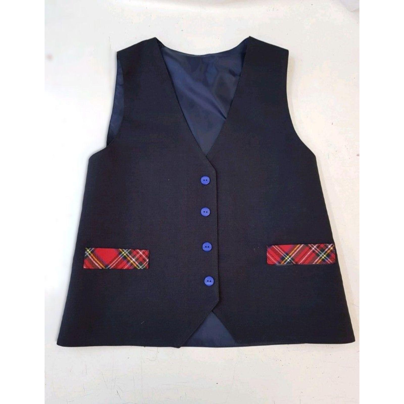 Vestă uniformă bleumarin baiat