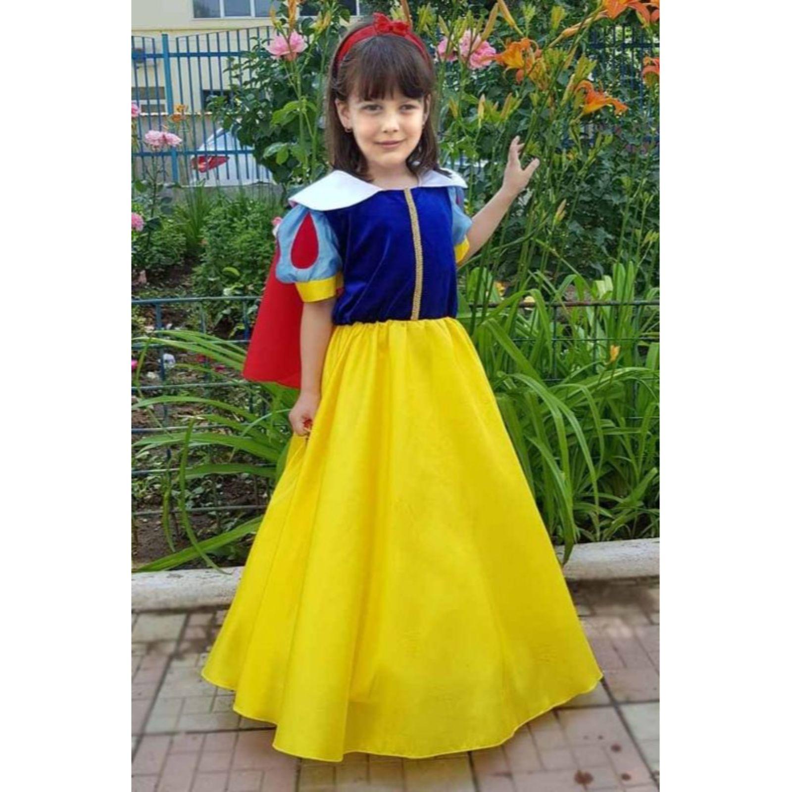 Rochita Printesa Alba ca Zapada 3