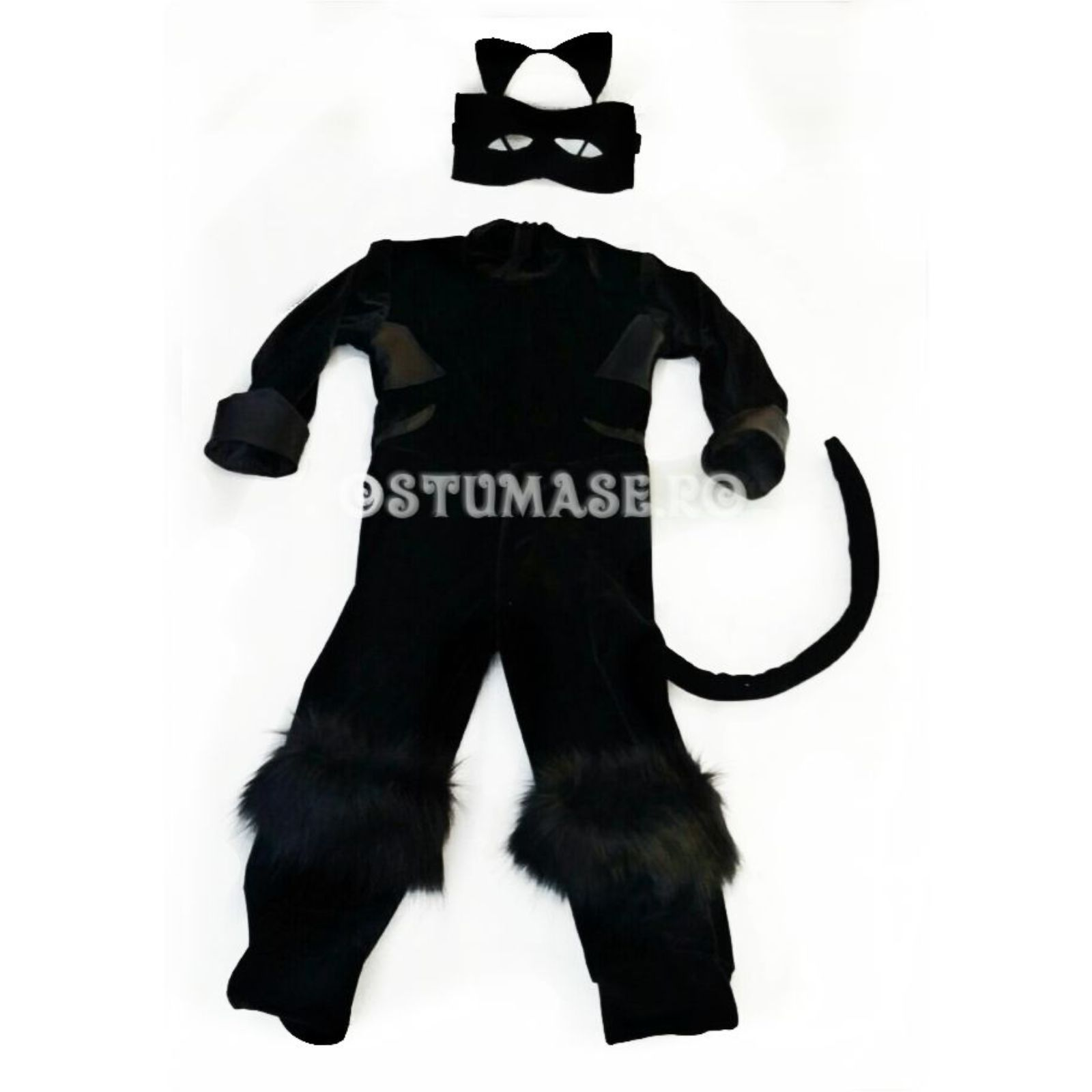 Costum Cat Noir sau Motan Negru Miraculos