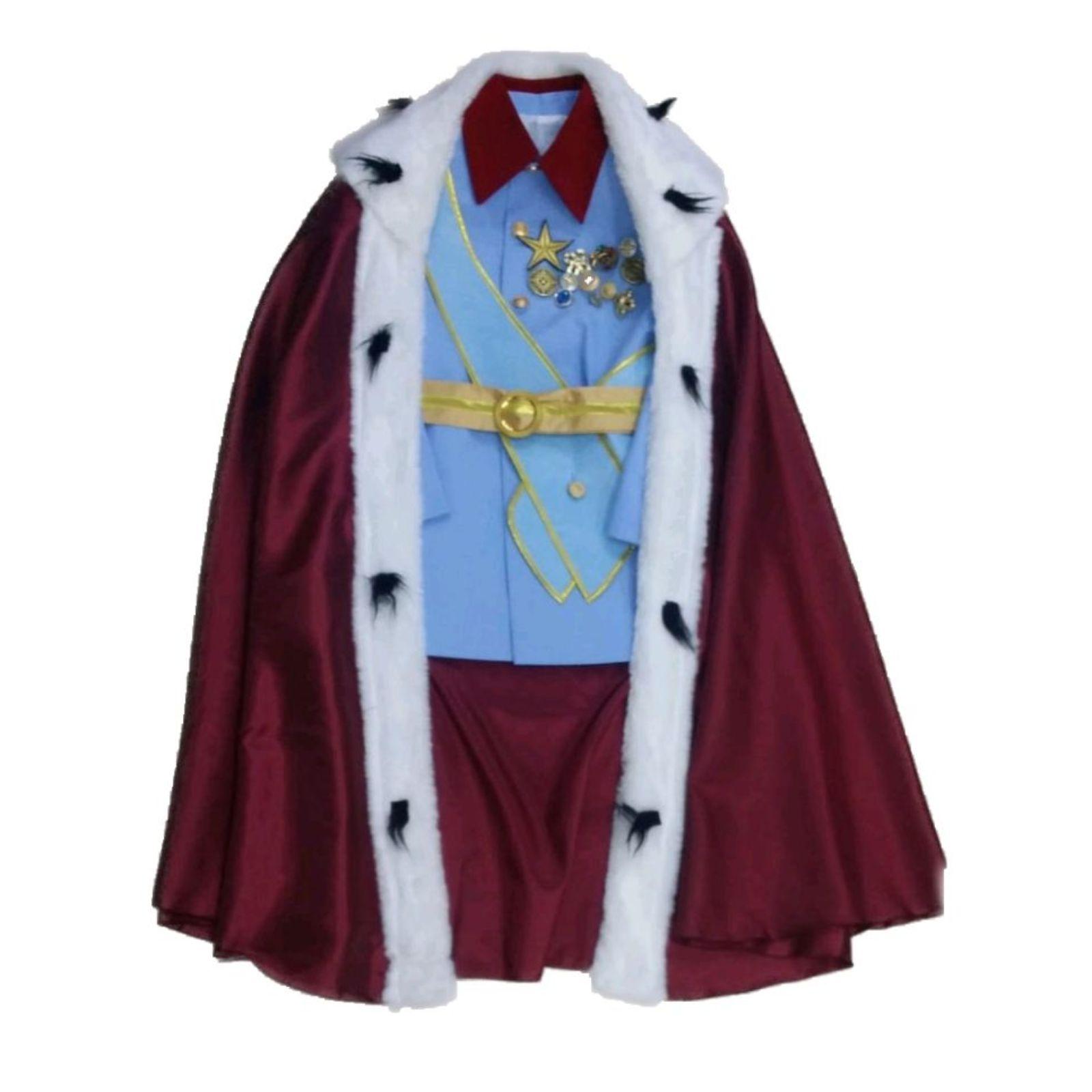 Costum Regele Ferdinand I cu pelerină 1
