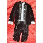 Costum Dracula / Print negru 1