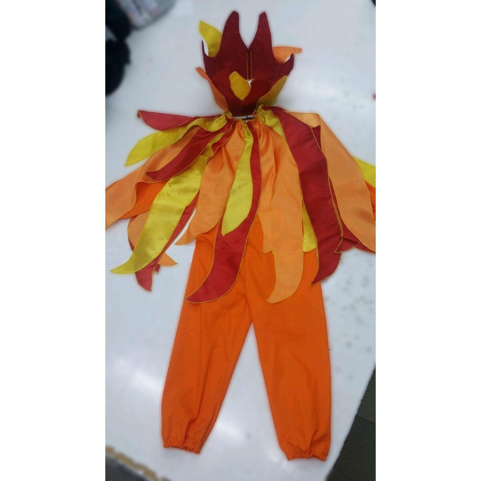 Costumaș personaj Foc sau Vâlvătaie