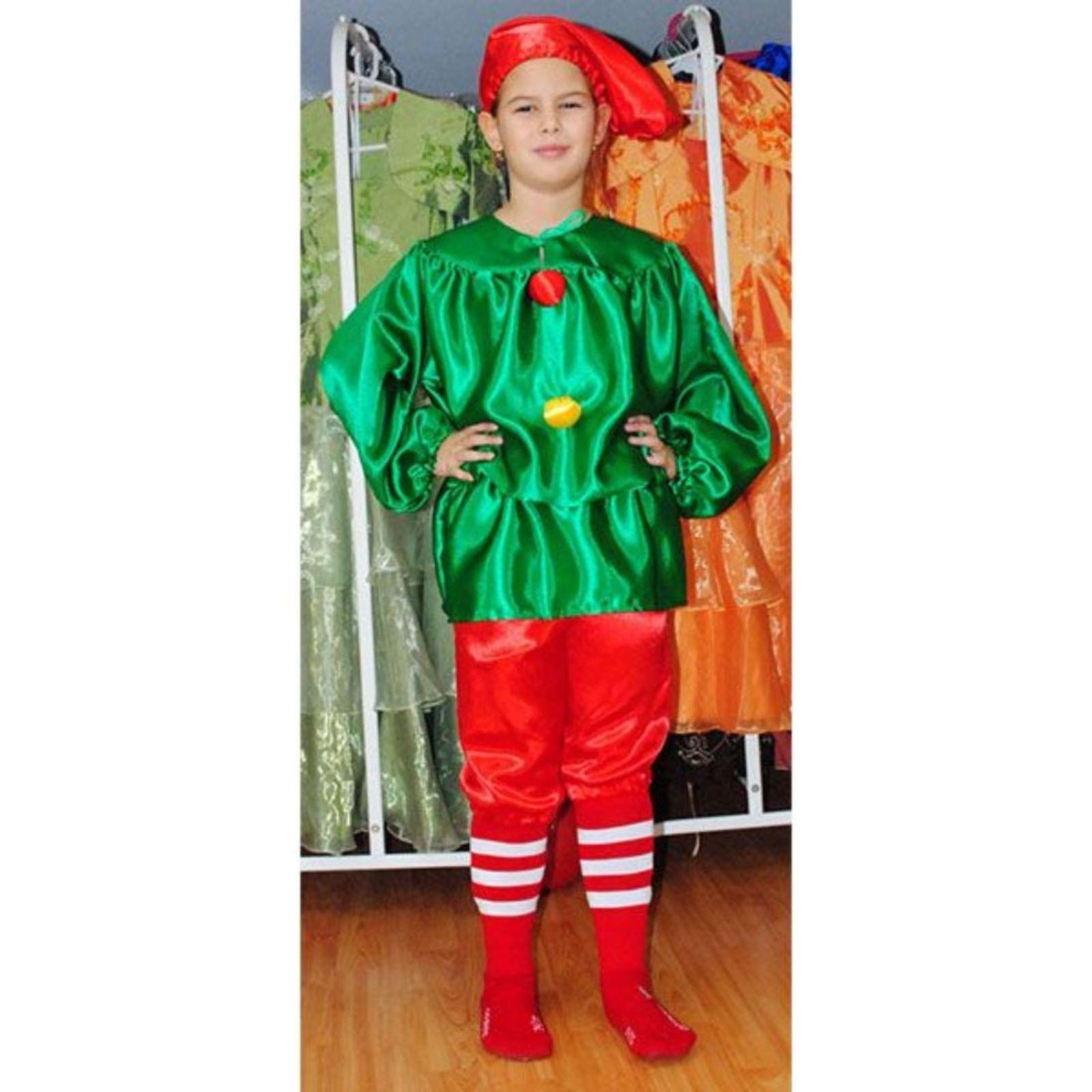 Costum Pitic verde 1