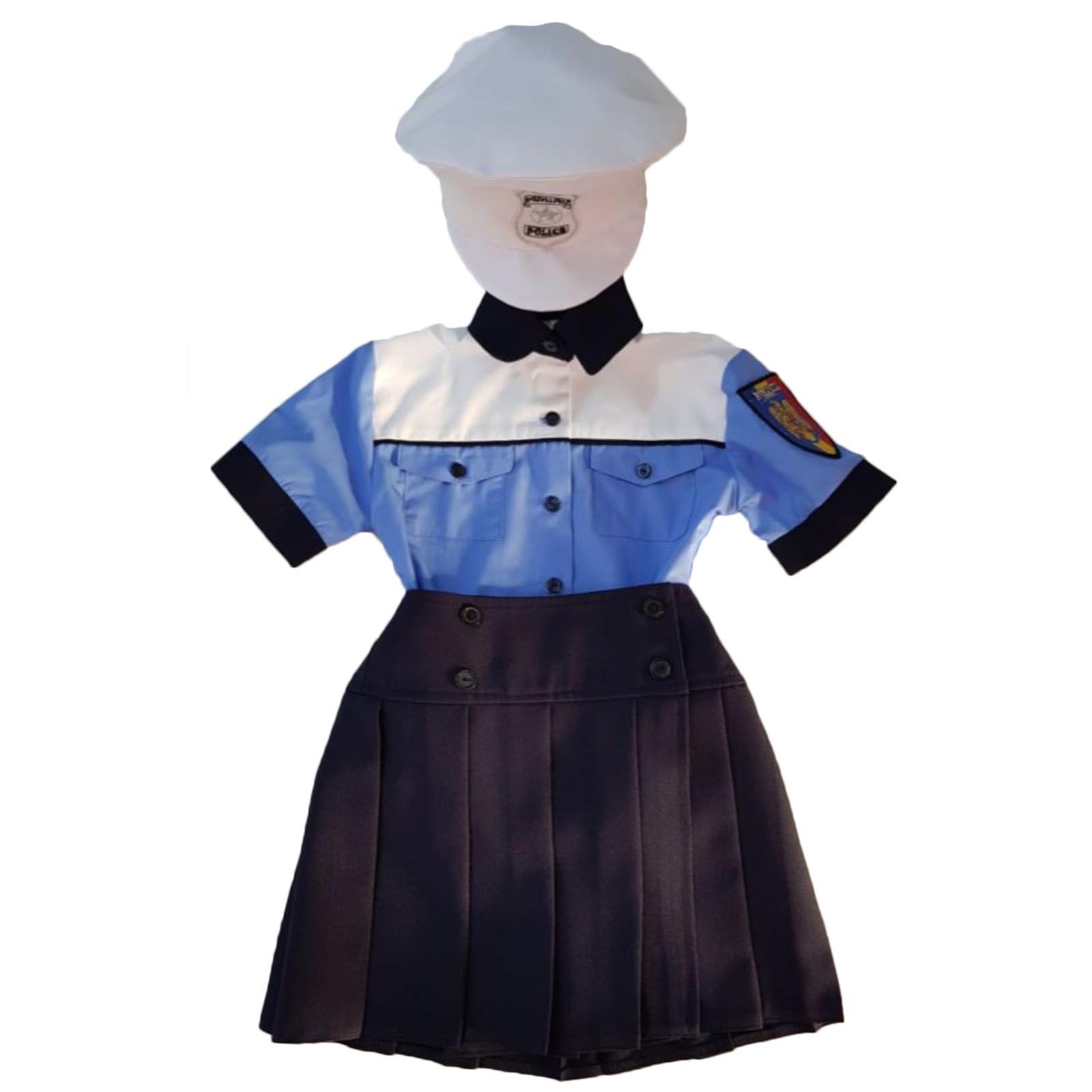 Costum politist fete