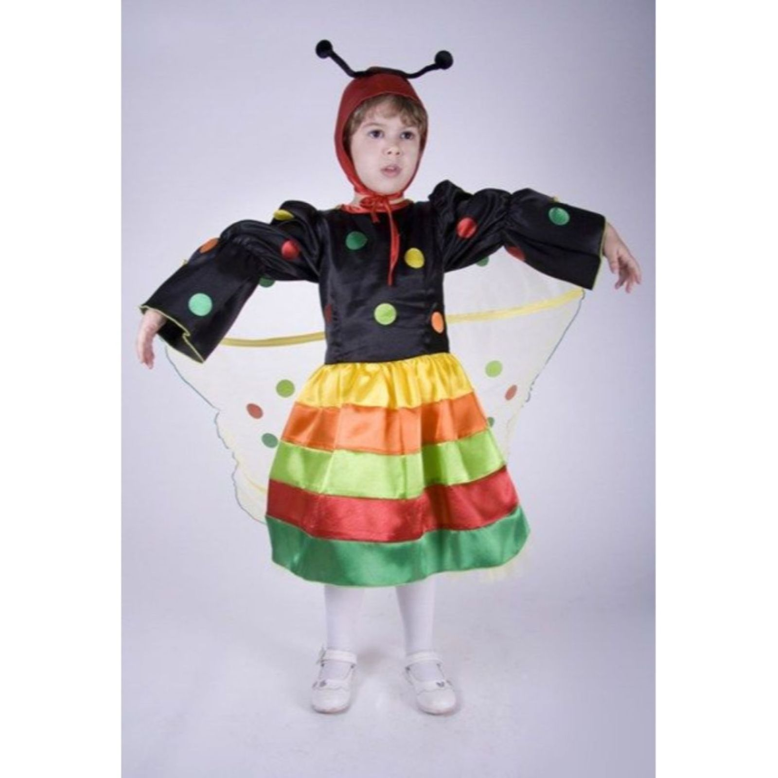 Costum de fluture-fetita