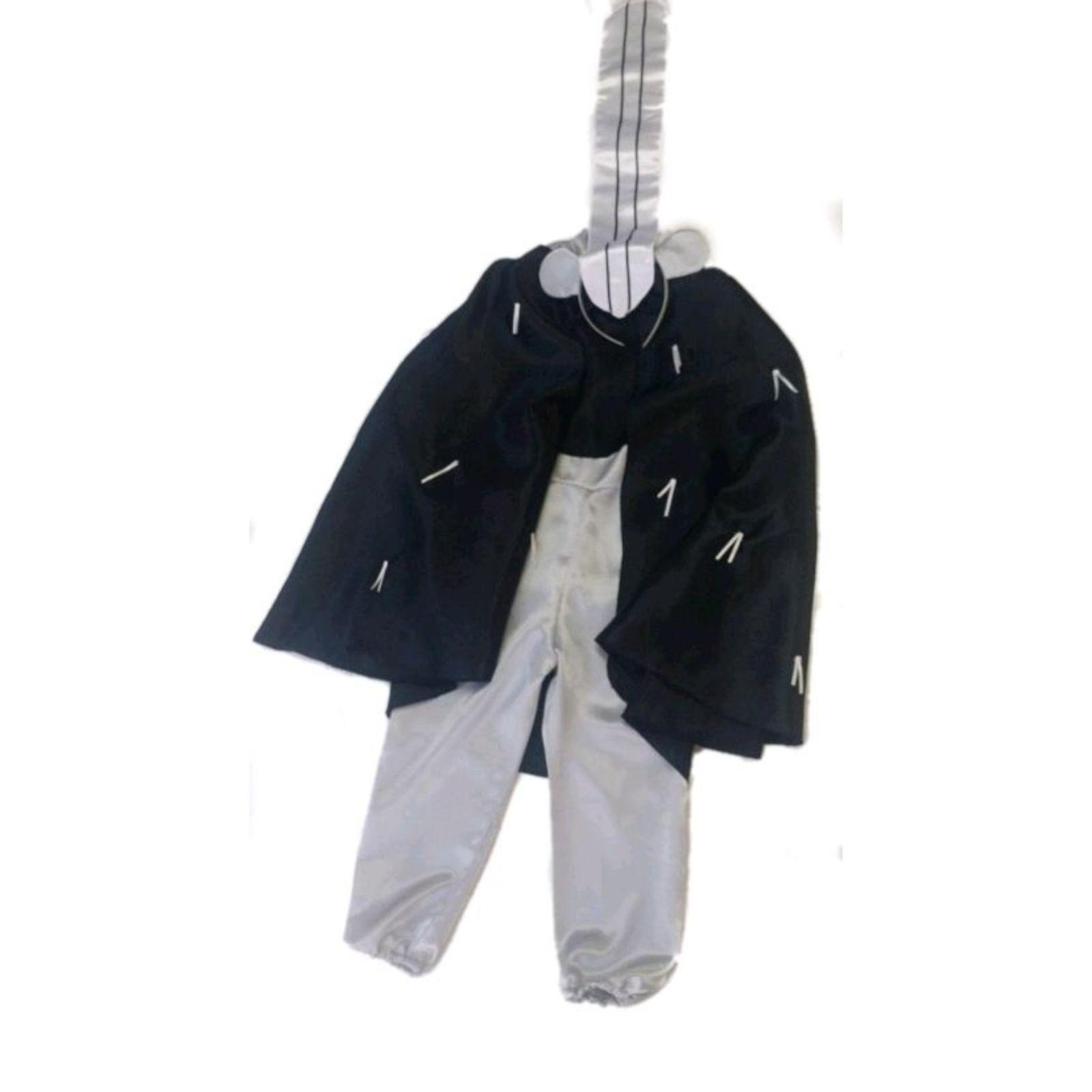 Costum Bursuc Negru