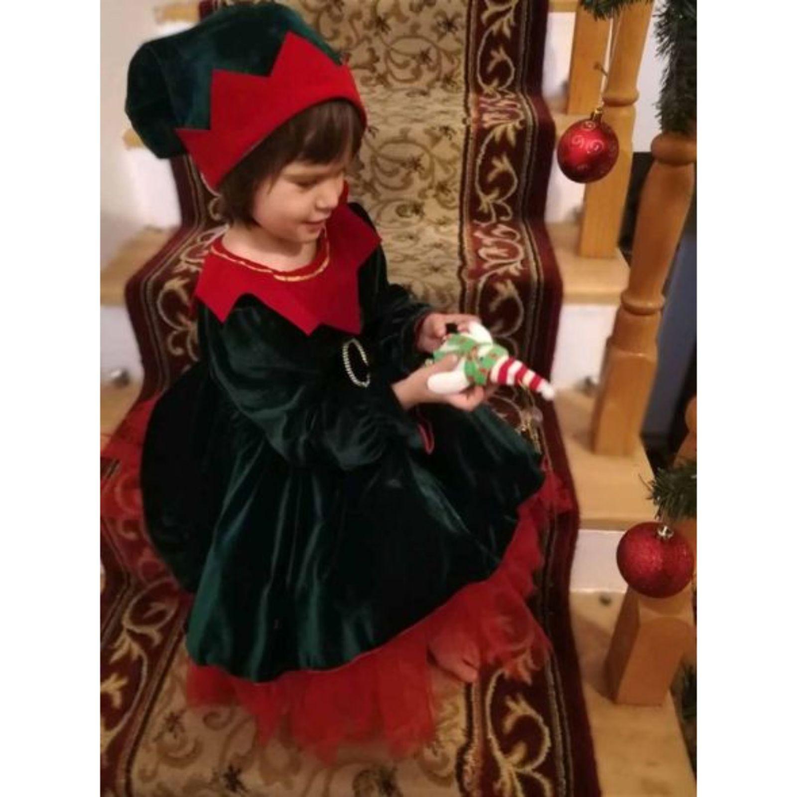 Rochiță elf - spiriduș