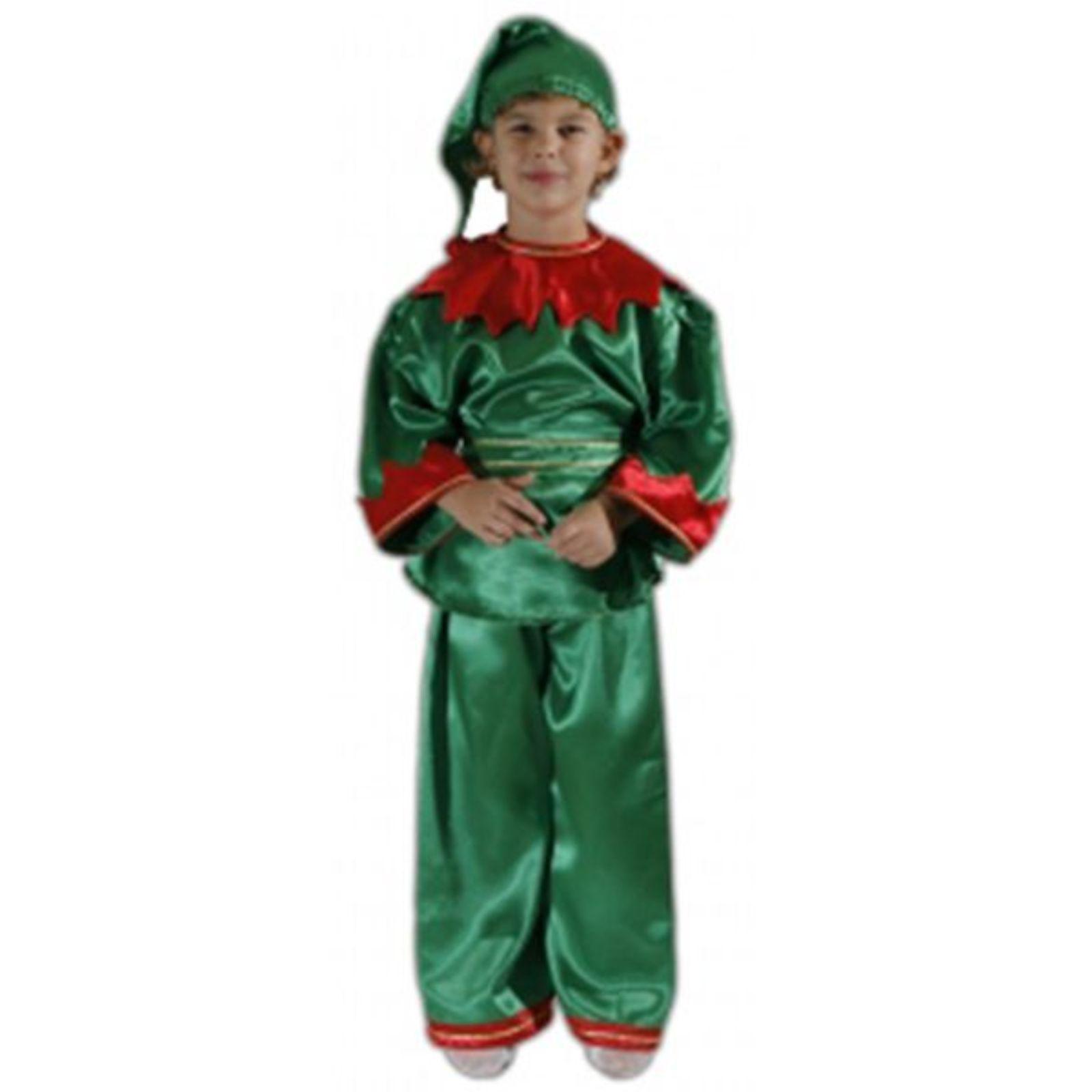 Costum Spiridus / Elf satin 1