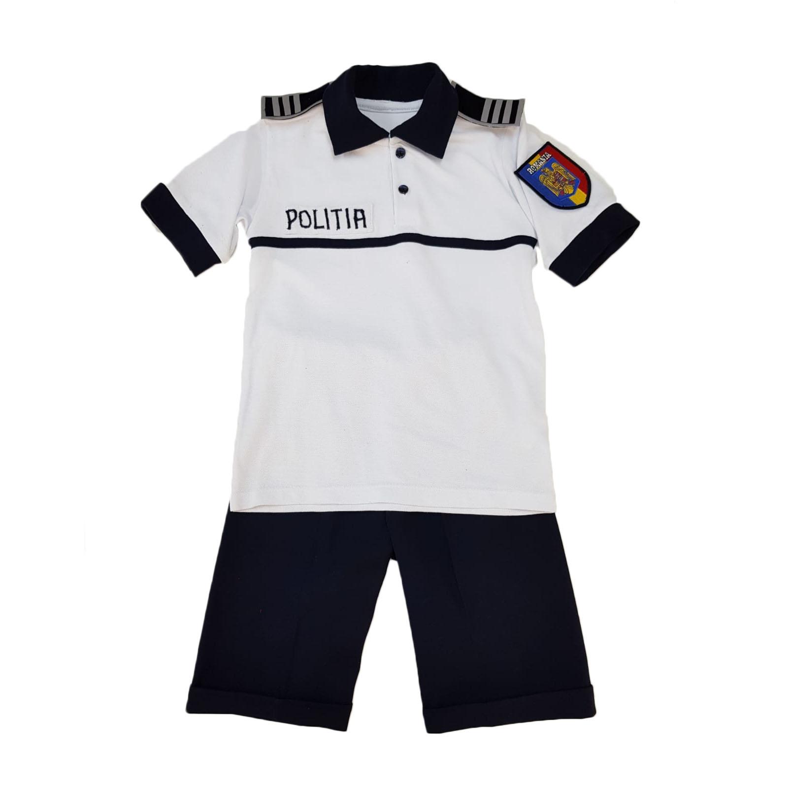 Costum politist copii- pentru vara 2