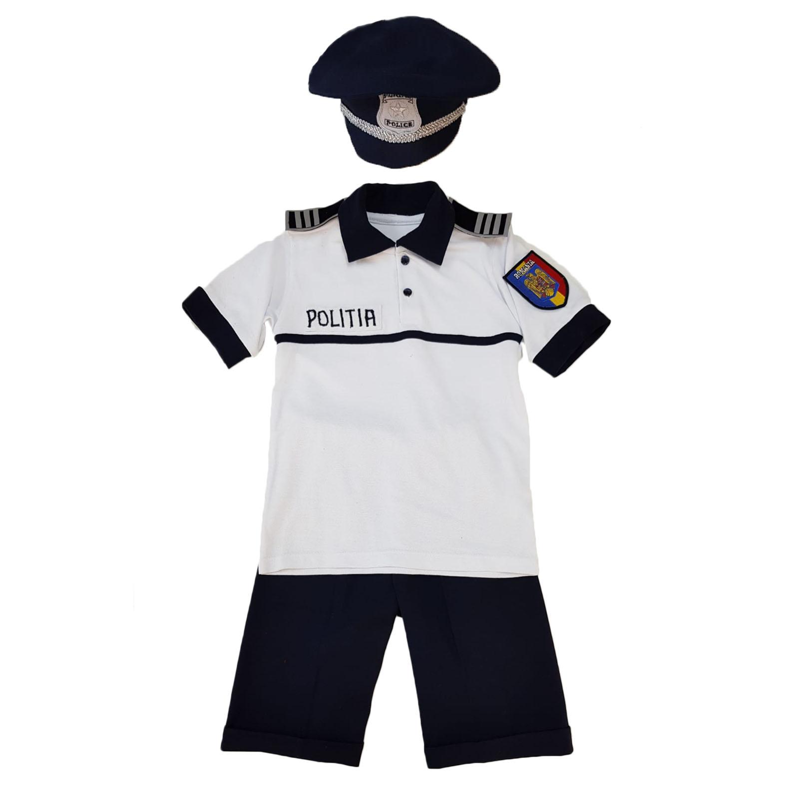 Costum politist copii- pentru vara