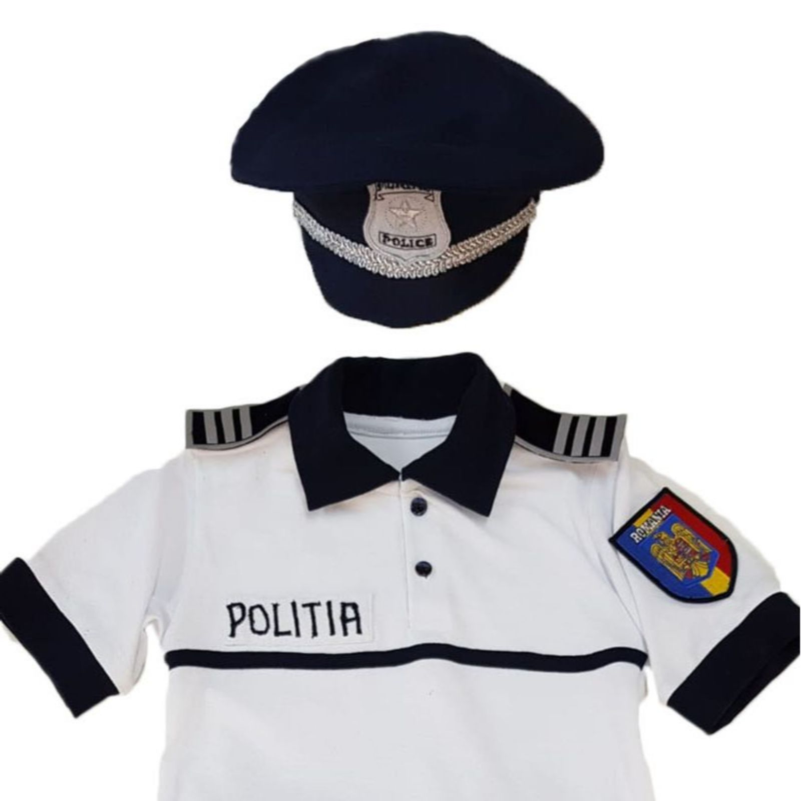 Costum politist copii- pentru vara 3