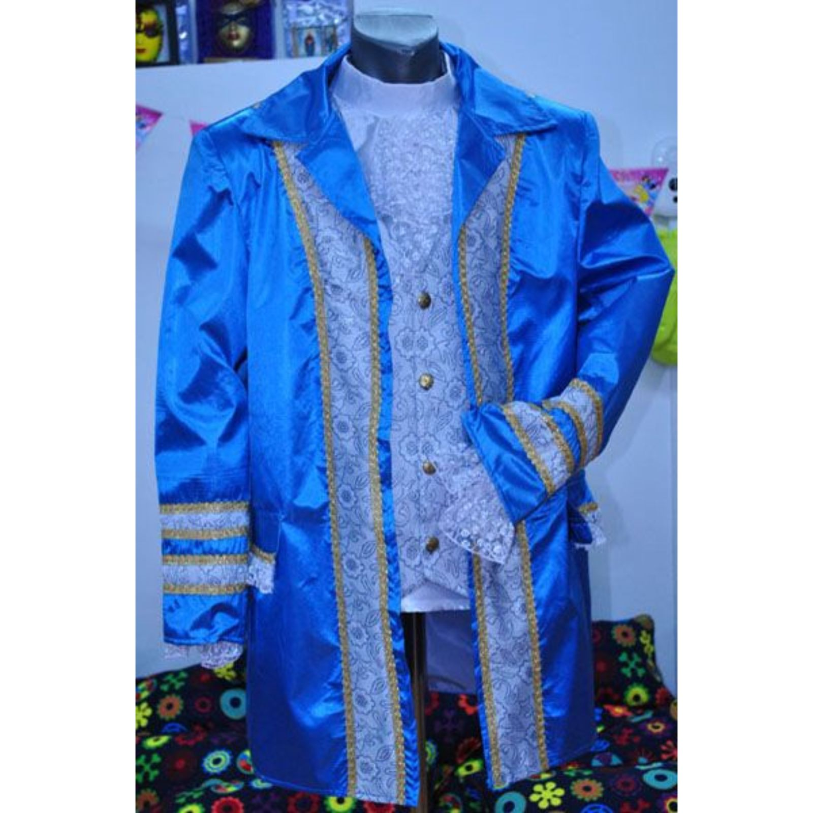 Redingota bleu 1