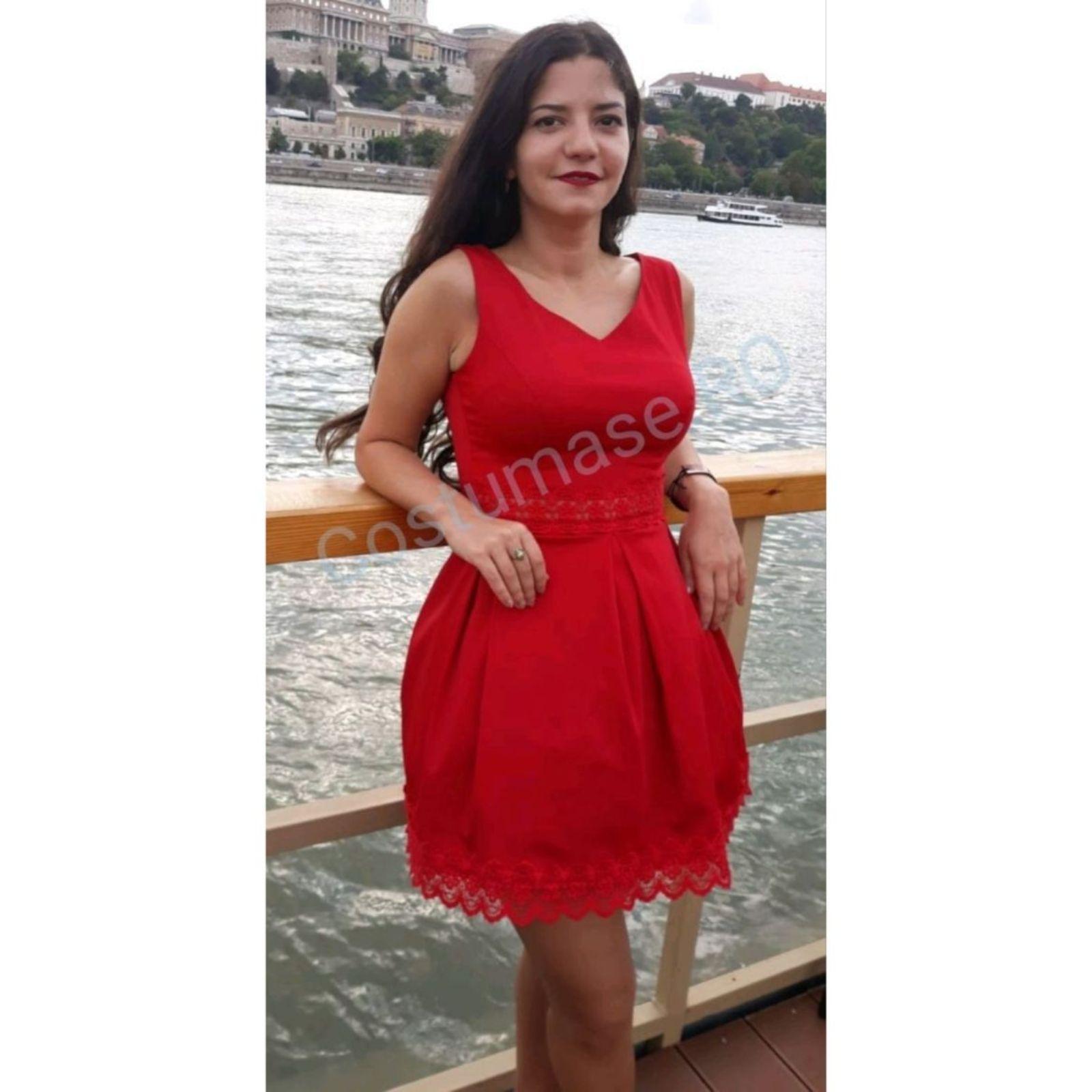 Rochie roșie Flavis Lady in Red 1