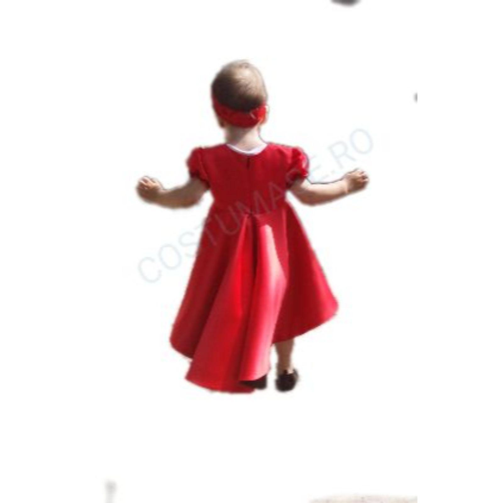 Rochita ocazie fetite Roșie ca focul