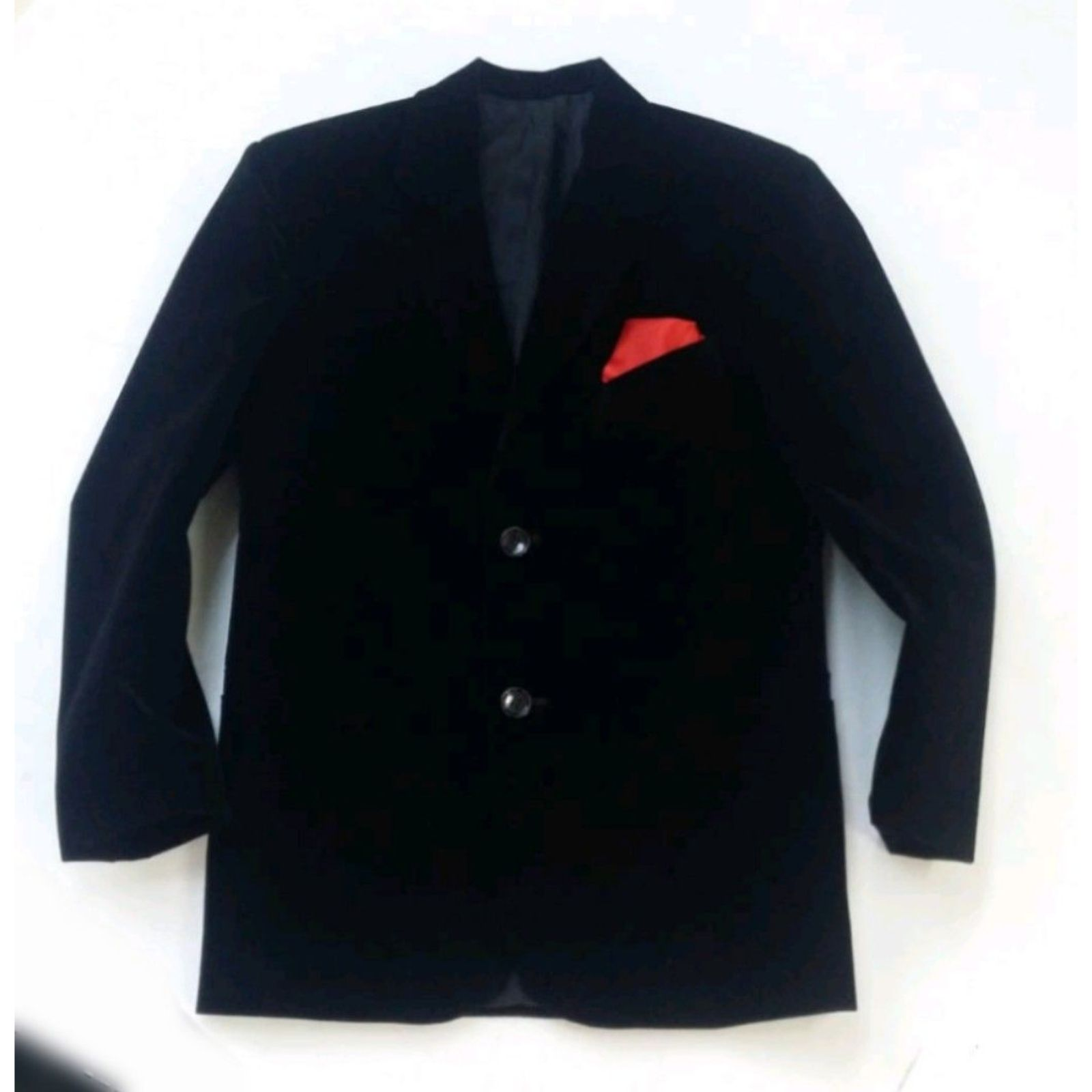 Sacou negru catifea Elegant