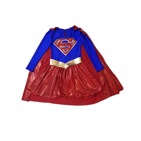 Costum SuperGirl fete 2