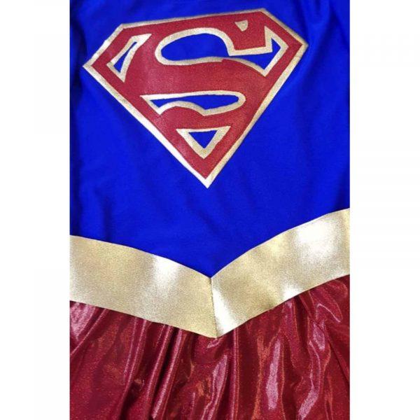 Costum SuperGirl fete 4