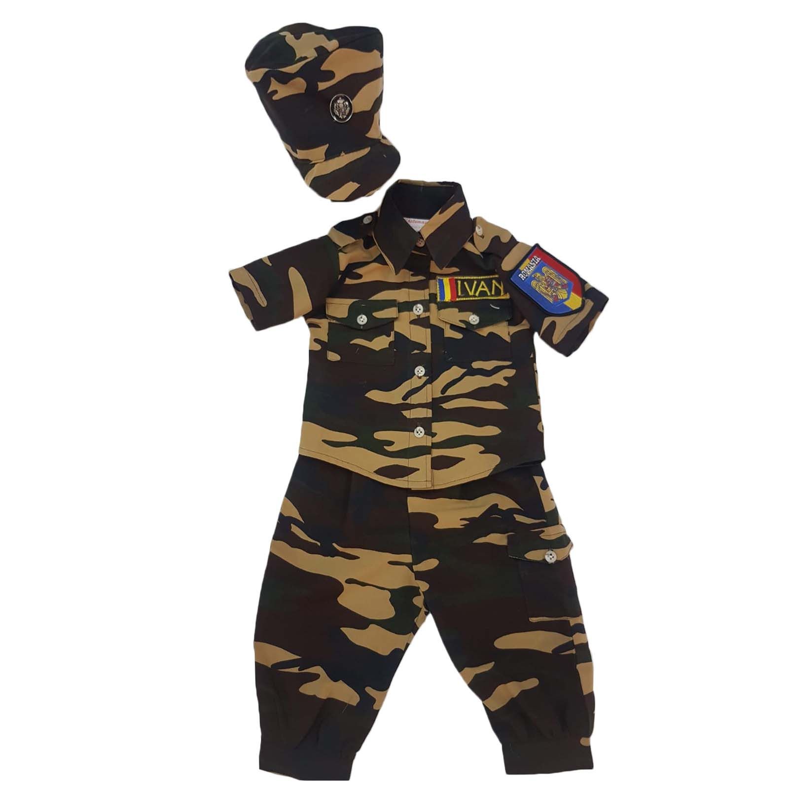 costum militar camuflaj