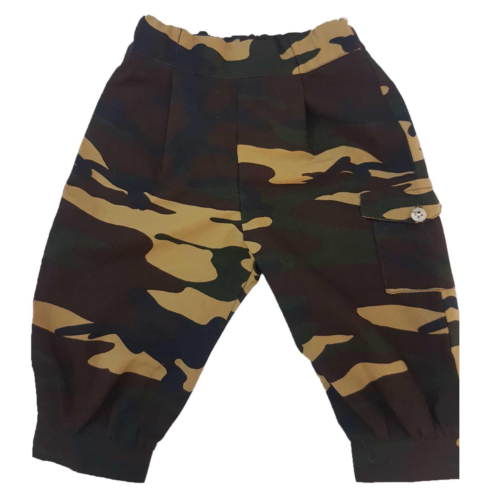 pantaloni costum camuflaj