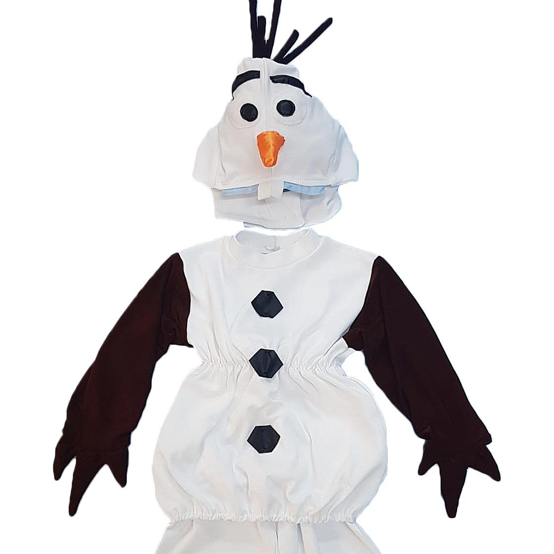 Costum Olaf detaliu