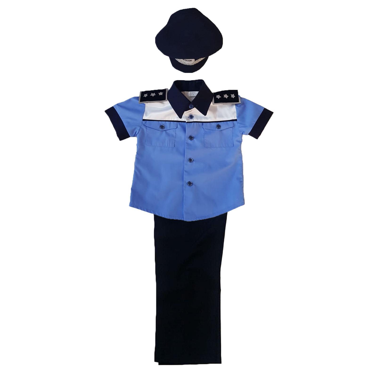 Costum polițist cu grade
