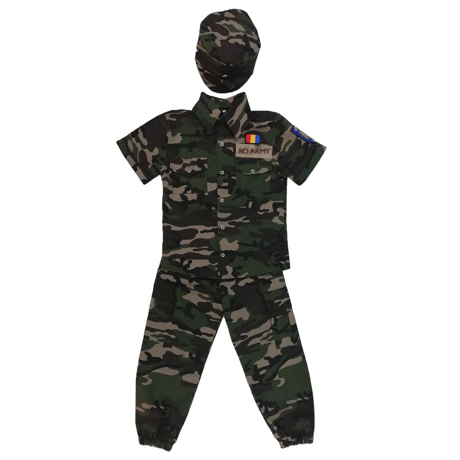 Costum armata camuflaj ARMY
