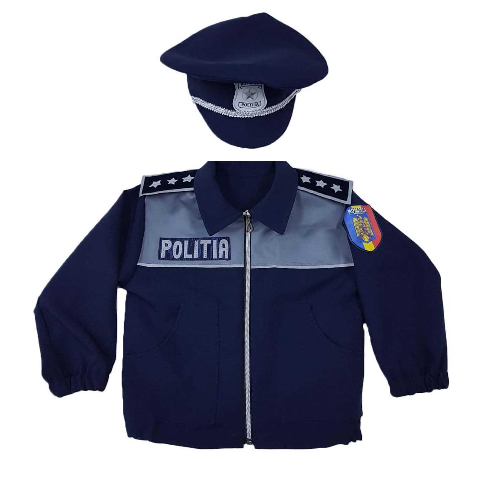 Bluzon politist cu sapca