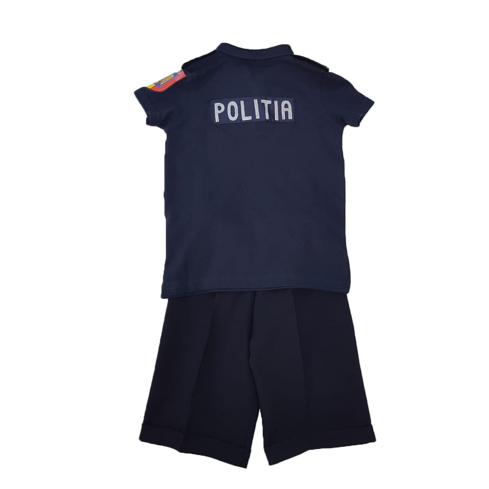 Costum Politist tricou bleumarin